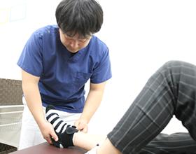 足首の施術画像